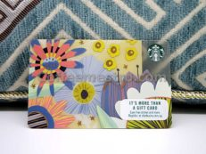 Starbucks Singapore Flowers Card