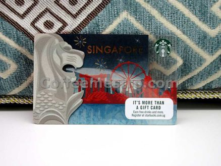 Starbucks Singapore Merlion Card For Collector