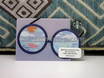 Starbucks South Korea Glasses Card