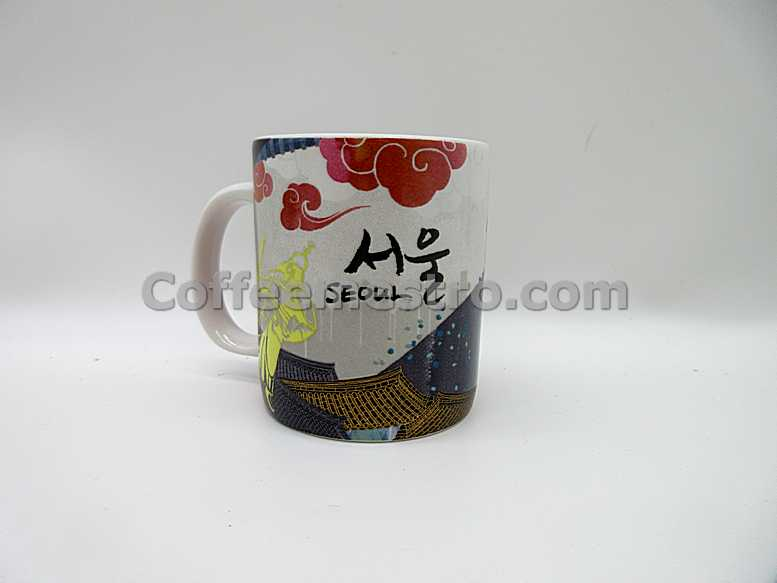 Starbucks South Korea Seoul 89ml Demi Mug