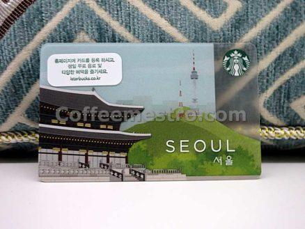 Starbucks South Korea Seoul Card