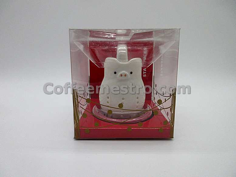 Starbucks Taiwan 2019 Year of the Pig Ceramic Milk Jar