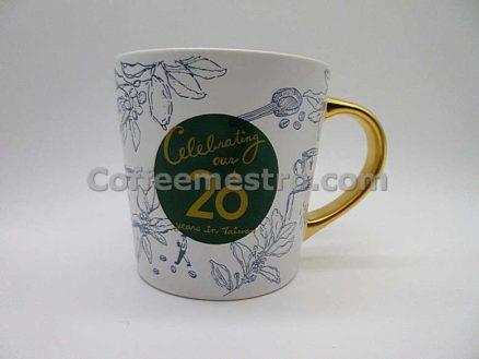 Starbucks Taiwan 20th Anniversary Mug