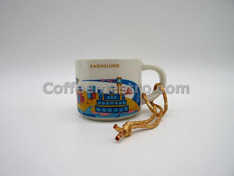 Starbucks Taiwan 2oz You Are Here Kaohsiung Mug / Ornament