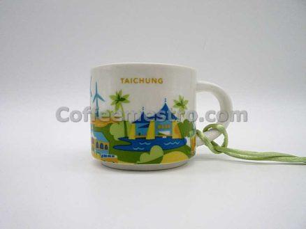 Starbucks Taiwan 2oz You Are Here Taichung Mug / Ornament