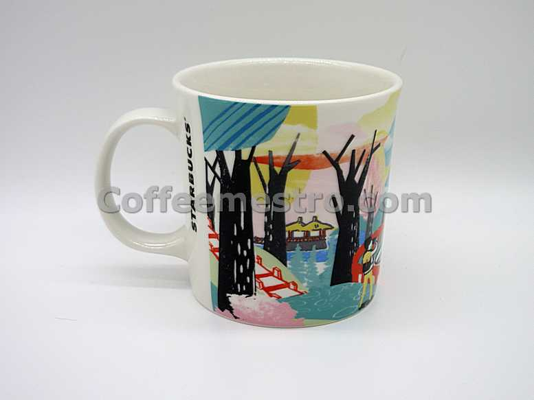Starbucks Taiwan Artsy Series Alishan Mountain Mug (Discontinued Edition)