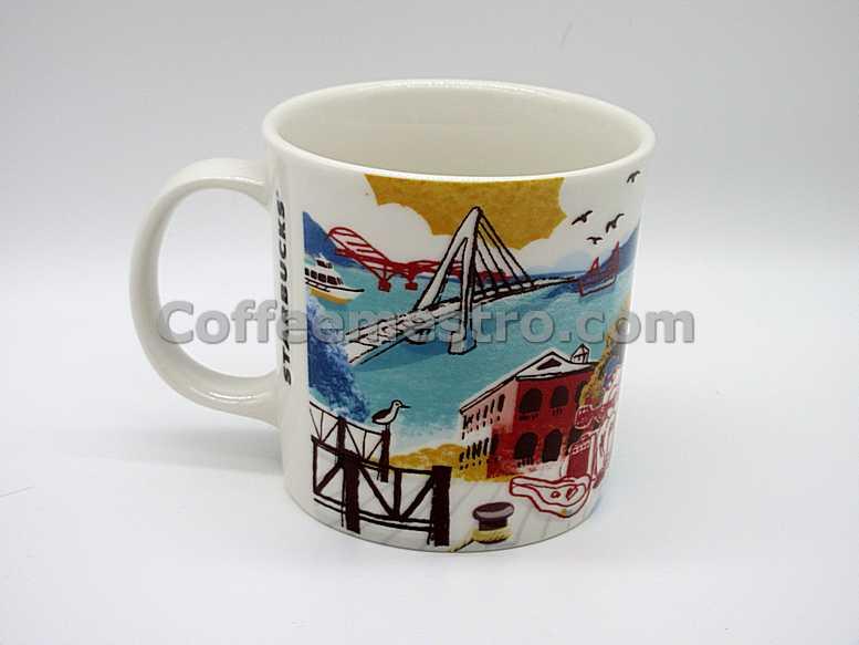 Starbucks Taiwan Artsy Series Tamsui Mug (Discontinued Edition)