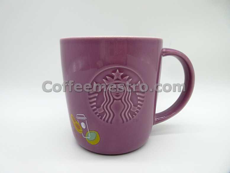 Starbucks Taiwan Coffee Journey 14oz Purple Mug