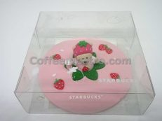 Starbucks Taiwan Silicone Strawberry Bear Mug Cover