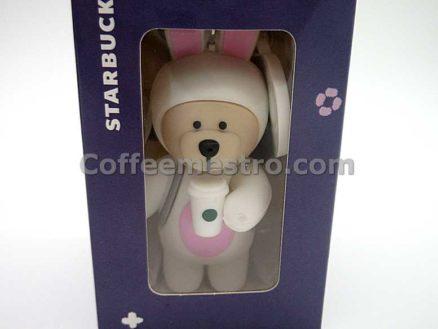 Starbucks Taiwan Teddy Bear Ornament (Mid–Autumn Festival Rabbit Edition)